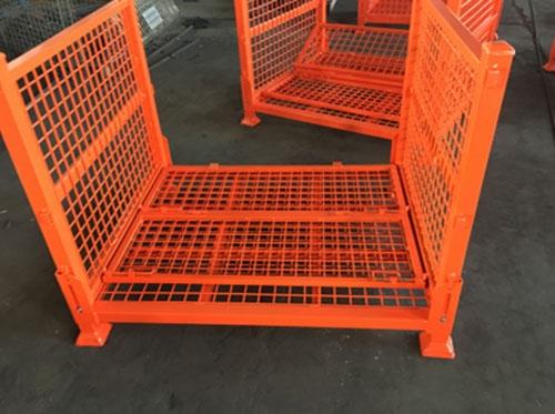 黄岛折叠仓储笼